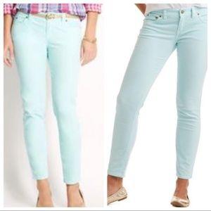 Vineyard Vines NWT Mint Skinny Jeans Size 0 NWT